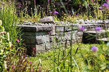 Treppen im Aussenbereich sanieren oder neu erstellen. Trockenmauern aus Natursteinen oder Recyclingmaterial